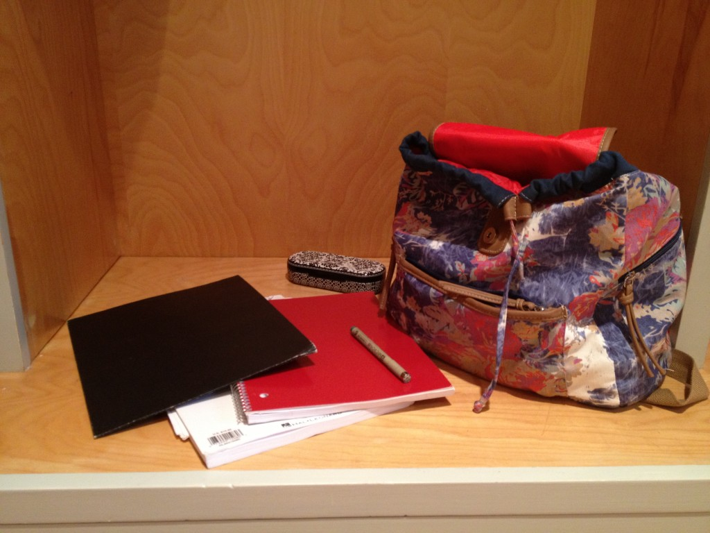 Organizing At School Year's End