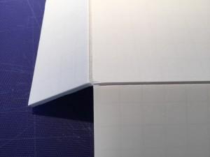Cutting a fold