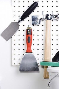 Tools from pegboard
