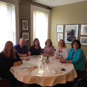 NAPO-CT Chapter out to Dinner