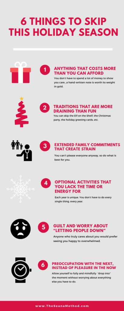 Six Things to Skip This Year | The Seana Method